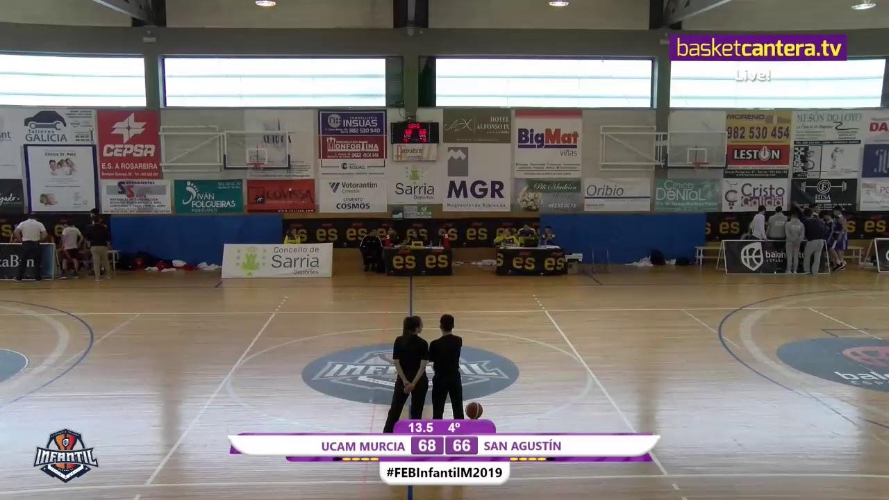 U14M - UCAM MURCIA - SAN AGUSTÍN - Campeonato de España Infantil Masculino