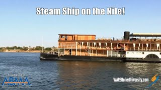 Exploring the Nile River on the Steamship SS Sudan
