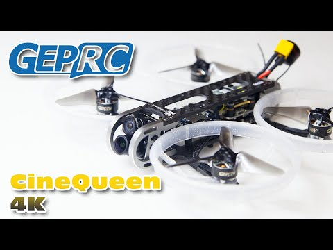 GepRC CineQueen 4K - Maiden flight in 4K 30fps! :)