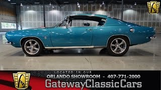 1968 Plymouth Barracuda Gateway Classic Cars Orlando #168