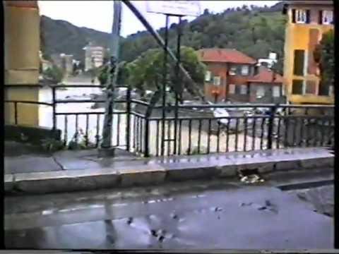 Pontedecimo, l'alluvione del 1993 che si portò via due ponti