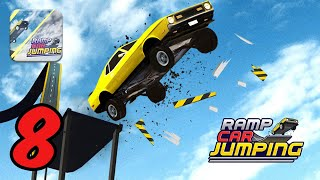Ramp Car Jumping - Gameplay Walkthrough #8 - iOS Android