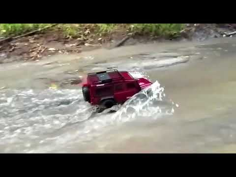 Traxxas TRX4 Water Test 2018