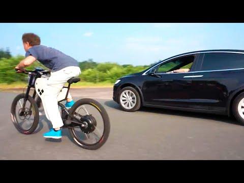 La Mejor Bicicleta Electrica Casera? (4.000$ vs 100$)   Acelera Como un Tesla