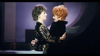 Lucille Ball Inducted Into The TV Hall Of Fame--March 1984