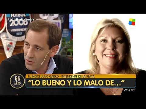 VIDEO Julio Garro en Polémica en el Bar: Maradona, Brandoni, Bruera, las obras contra la inundación y chicanas varias