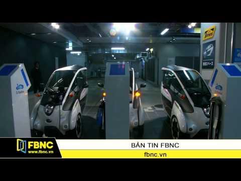 Toyota thử nghiệm xe điện 3 bánh tại Tokyo