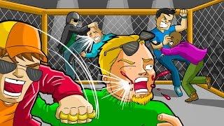 GTA V - PORRADARIA NA ARENA SECRETA DO UFC NO GTA 5 ONLINE