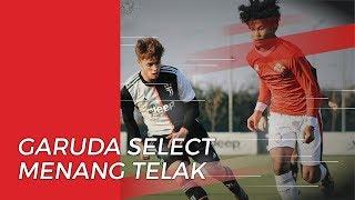 Hadapi Huddersfield U-18, Garuda Select Jilid II Sukses Menang Telak