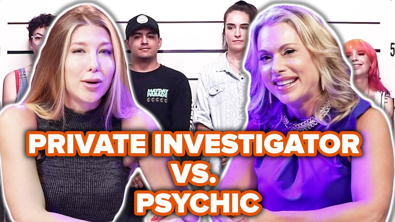 Private Investigator Vs. Psychic Match The Story To The Face Out Of A Lineup thumbnail