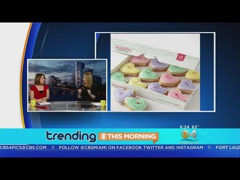 b0619406a5016 Trending  Krispy Kreme Valentine s Day Donut