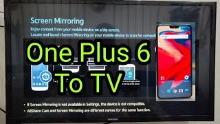 how to connect one plus six to lg smart tv - Thủ thuật máy