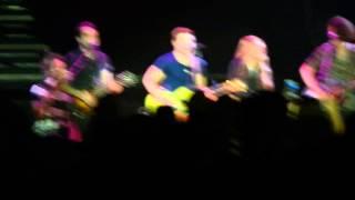 Danielle Bradbery & Hunter Hayes @ James Brown Arena-May 29,2014