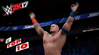 Stupefying Super Maneuvers!: WWE 2K17 Top 10