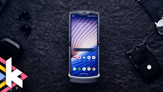 Das cleverste faltbare Smartphone: Moto Razr 5G (review)
