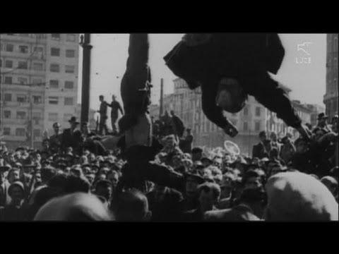 mussolini speech 1943 youtube