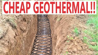 My DIY Geothermal System Was So CHEAP!!!