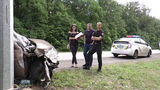 Хотів покінчити життя самогубством: ДТП на Білгородському шосе