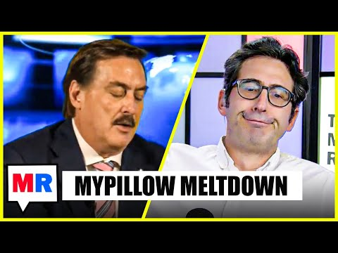 MyPillow Guy Can't Stop Screwing Up On Camera