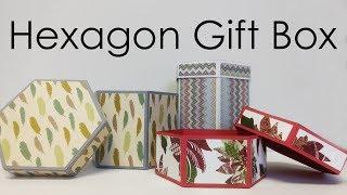 [Tutorial + Template] DIY Hexagon Gift Box