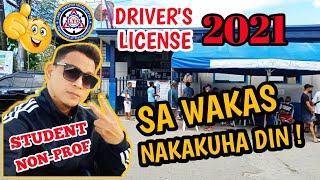 HOW TO GET STUDENT TO NON-PROFESSIONAL DRIVER'S LICENSE | UPDATED 2021| STEP BY STEP GUIDE