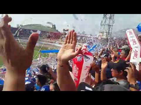 """""""La 12 TRICOLOR recibimiento a Mannucci en la semifinal contra los borricos"""" Barra: La 12 Tricolor • Club: C.A. Mannucci"""