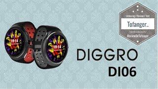 Diggro DI06 (Diggro Z10) : Einer der besten smartwatch 2017 - TOP -
