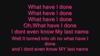 Carrie Underwood-Last Name Lyrics