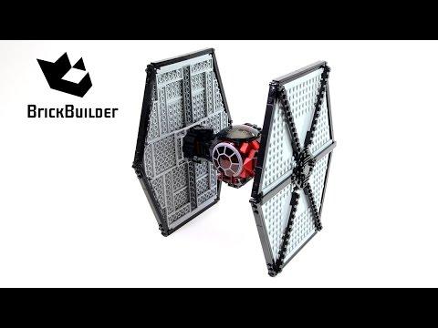 Vidéo LEGO Star Wars 75101 : TIE fighter des Forces Spéciales du Premier Ordre
