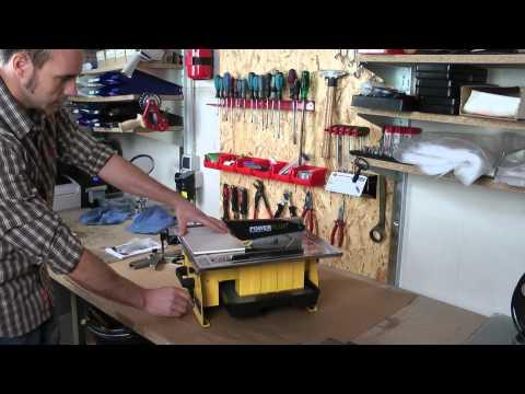Fliesenschneidemaschine 750 Watt POWX230 Powerplus / VARO®