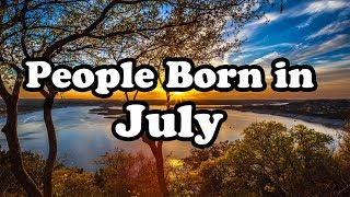 July   Birth Month Say About Your Personality   Happy Birthday   Whatsapp Status