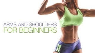 Beginner Resistance Band Workout (Arms and Shoulders for BEGINNERS!!) by Athlean-XX for Women