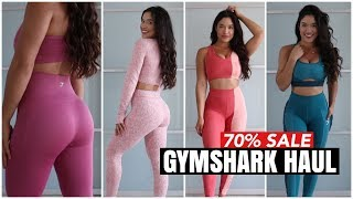 HUGE GYMSHARK SALE!! TRY ON HAUL *UP TO 70%OFF*
