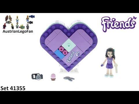 Vidéo LEGO Friends 41355 : La boîte cœur d'Emma