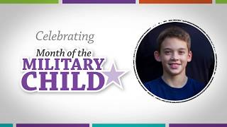 Month of the Military Child - Eli