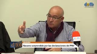dotb Navarro ante la propuesta de los presupuestos