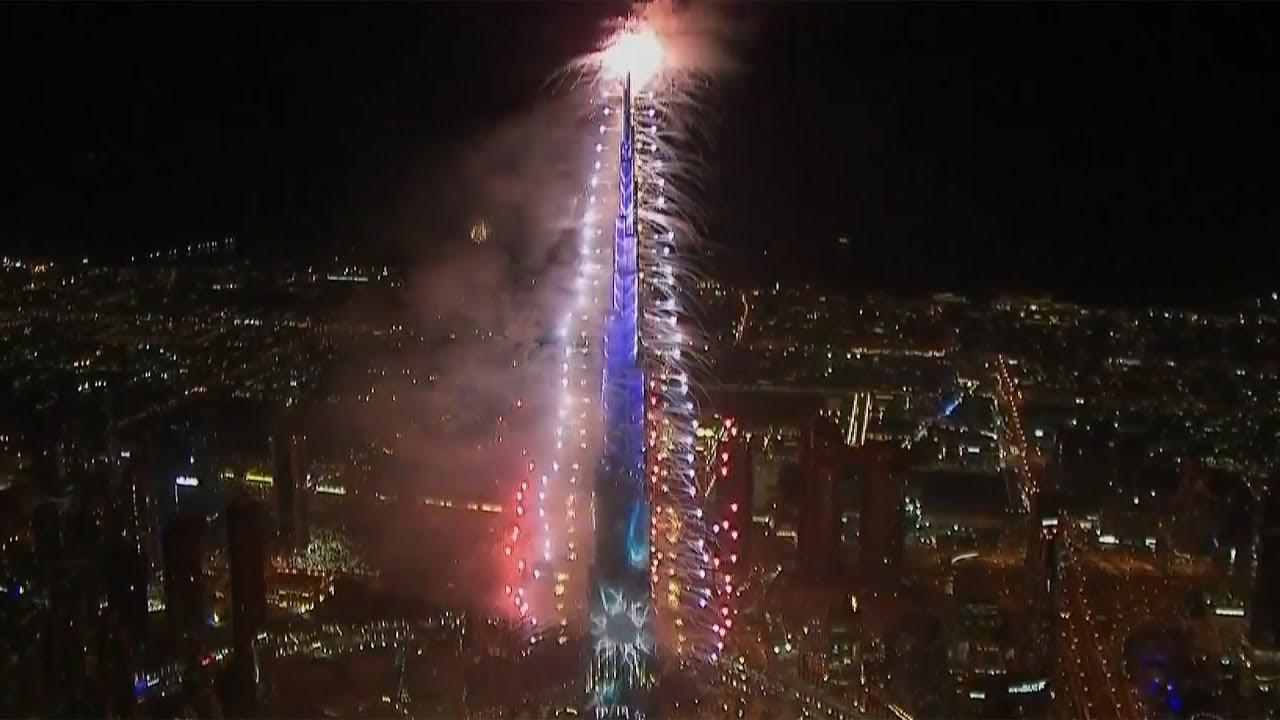 Новогодний салют в Дубае смотрели более миллиона зрителей