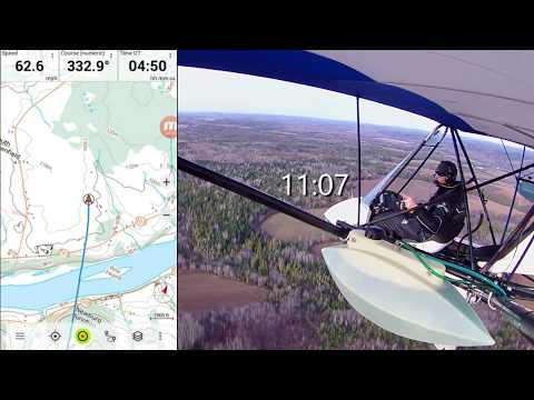 Cross Country Flight with Navigation App Review