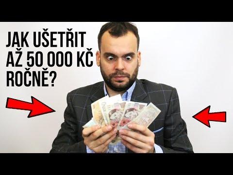 Jak ušetřit až 50 000 Kč ročně?