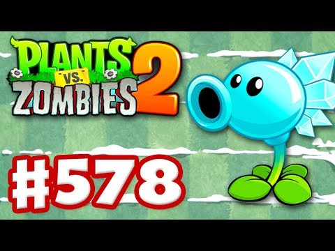 Plants vs. Zombies 2 - Gameplay Walkthrough Part 578 - Snow Pea Premium Seeds Epic Quest!