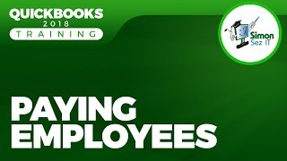How to Pay Employees in QuickBooks 2018