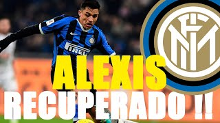 ALEXIS SÁNCHEZ regresó con el INTER: fuerte, rápido y MOTIVADÍSIMO