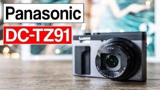 So viel Zoom und doch so kompakt! Panasonic DC-TZ91 | Reisezoom Kamera