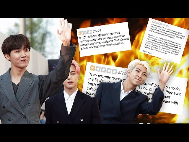 BTS Army Destroys Restaurant Over Private Video Leak