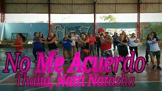 No me Acuerdo - Thalía, Natti  Natasha | Ritmos Dance | (Coreografia) Marcelo Mathias