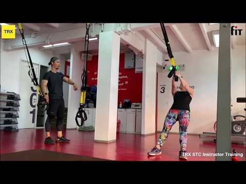 TRX Suspension Training Course (STC) - YouTube