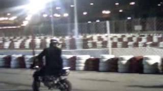 preview picture of video '2008 Mini Bike Motor Bike Race on Mini Formula One Track  Racing - VSi'