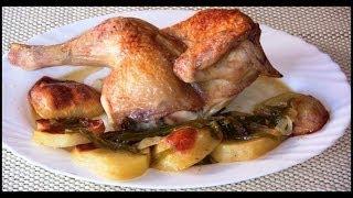 Pollo asado con patatas | Javier Romero