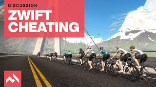 Is there a cheating problem on Zwift?