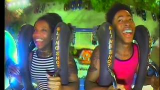 Download Youtube: De'arra and Ken Ride the Tallest Slingshot in the WORLD